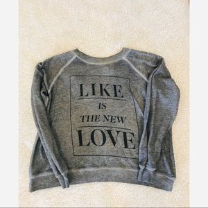 Wildfox Like Is The New Love Sweater Size XS
